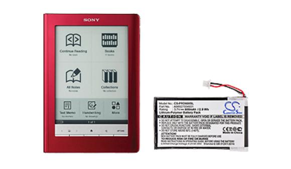 Sony PRS-600. Разборка и замена батареи.